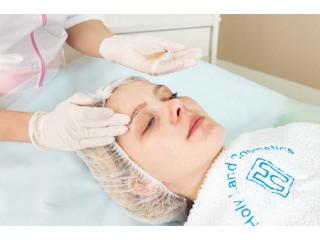 Атравматичная чистка жирной кожи лица на косметике Holy Land